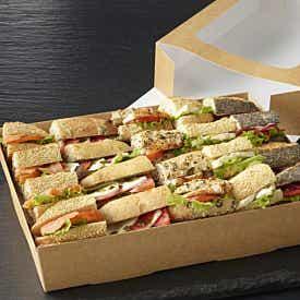 Plateau gourmand de 20 mini sandwiches