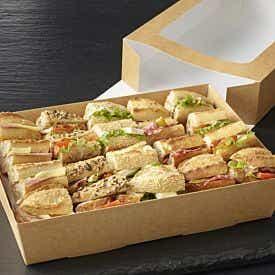 Plateau parisien de 20 mini sandwiches