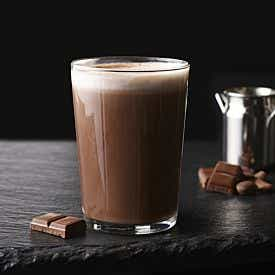Onctueux latte petit