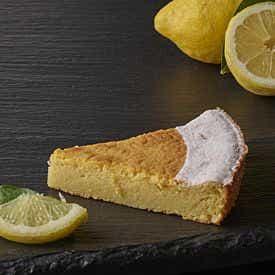 Part de moelleux au citron