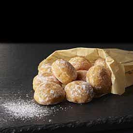 Le lot de 10 mini beignets nature