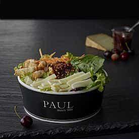 Salade brebis confit de cerise