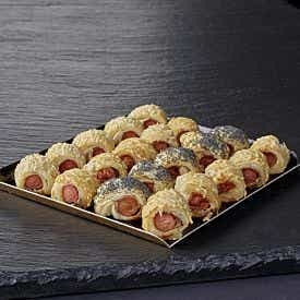 Mini-feuilletés saucisses 20 pièces
